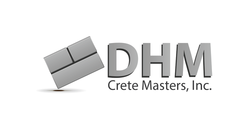 DHM Crete Masters, Inc. (not sure if it needs to be in design but that's the name of company A Logo, Monogram, or Icon  Draft # 32 by kingmaster