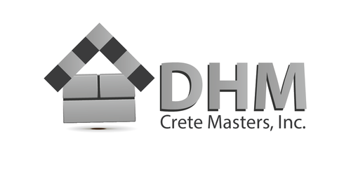 DHM Crete Masters, Inc. (not sure if it needs to be in design but that's the name of company A Logo, Monogram, or Icon  Draft # 33 by kingmaster