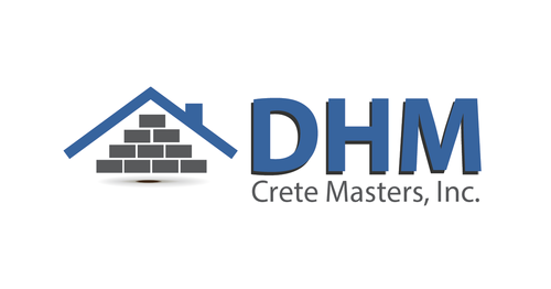 DHM Crete Masters, Inc. (not sure if it needs to be in design but that's the name of company A Logo, Monogram, or Icon  Draft # 34 by kingmaster
