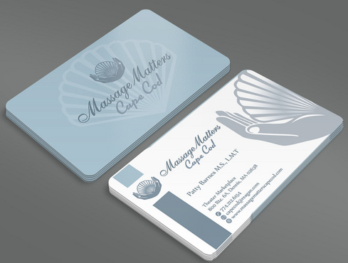 Massage Matters Cape Cod Business Cards and Stationery  Draft # 45 by ArtworksKingdom