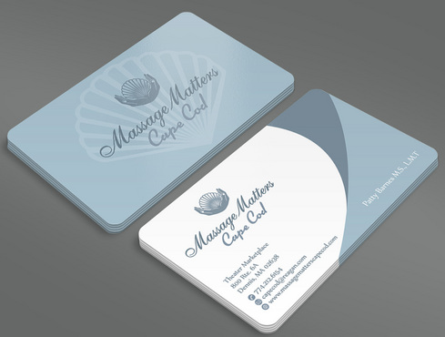 Massage Matters Cape Cod Business Cards and Stationery  Draft # 47 by ArtworksKingdom
