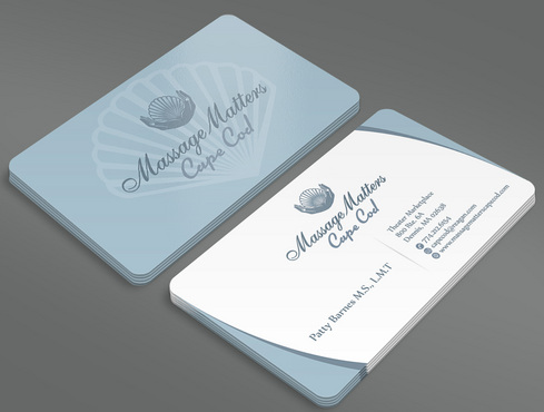 Massage Matters Cape Cod Business Cards and Stationery  Draft # 46 by ArtworksKingdom