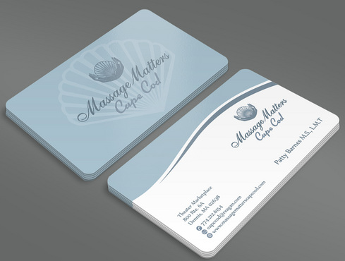 Massage Matters Cape Cod Business Cards and Stationery  Draft # 48 by ArtworksKingdom