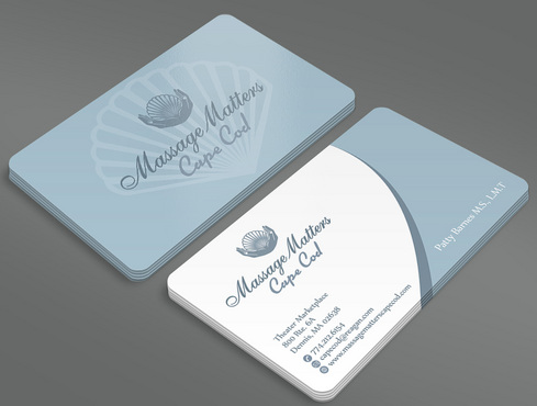 Massage Matters Cape Cod Business Cards and Stationery  Draft # 52 by ArtworksKingdom