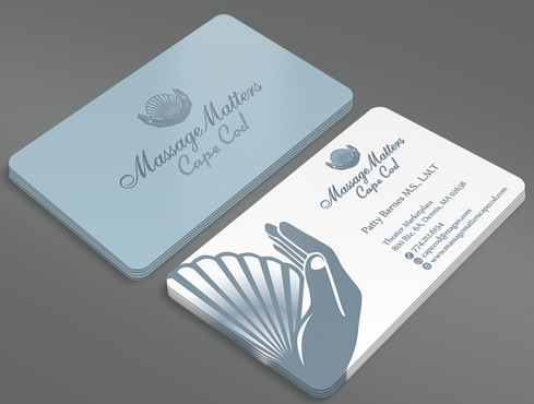 Massage Matters Cape Cod Business Cards and Stationery  Draft # 53 by ArtworksKingdom