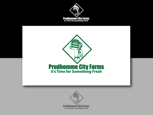 Prudhomme City Farms A Logo, Monogram, or Icon  Draft # 2 by kenjitheslasher