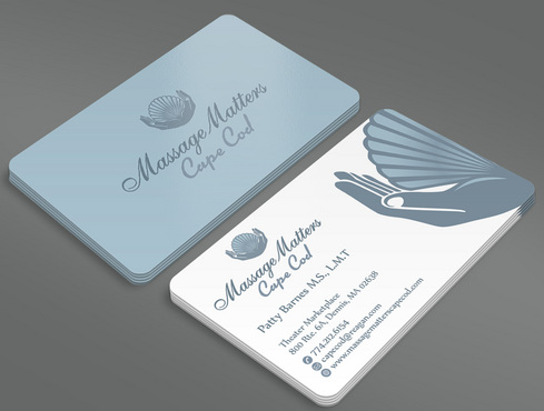 Massage Matters Cape Cod Business Cards and Stationery  Draft # 58 by ArtworksKingdom