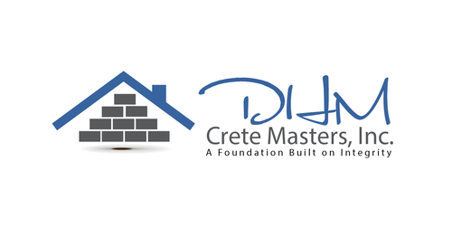 DHM Crete Masters, Inc. (not sure if it needs to be in design but that's the name of company A Logo, Monogram, or Icon  Draft # 35 by kingmaster