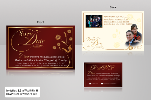double sided design Marketing collateral  Draft # 35 by monski