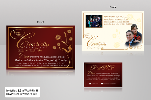 double sided design Marketing collateral  Draft # 36 by monski