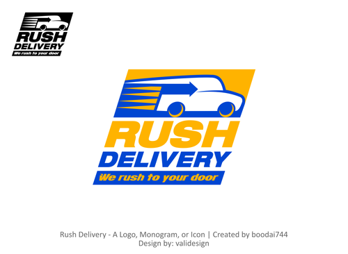 Logo For A Home Delivery Multi Purpose Company By Boodai744