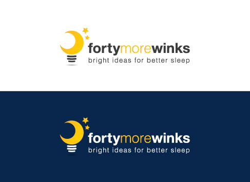 40 More Winks (also Forty More Winks) A Logo, Monogram, or Icon  Draft # 98 by Mayas