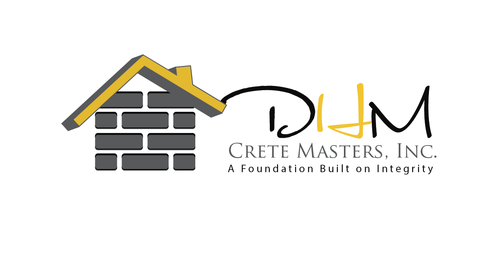 DHM Crete Masters, Inc. (not sure if it needs to be in design but that's the name of company A Logo, Monogram, or Icon  Draft # 39 by kingmaster