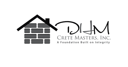 DHM Crete Masters, Inc. (not sure if it needs to be in design but that's the name of company A Logo, Monogram, or Icon  Draft # 41 by kingmaster