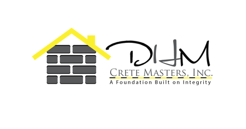 DHM Crete Masters, Inc. (not sure if it needs to be in design but that's the name of company A Logo, Monogram, or Icon  Draft # 42 by kingmaster