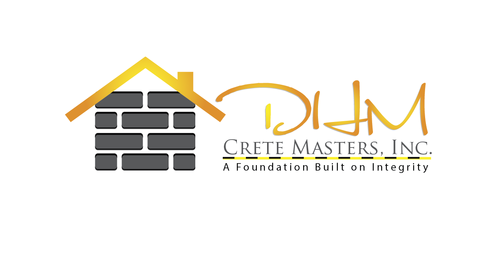 DHM Crete Masters, Inc. (not sure if it needs to be in design but that's the name of company A Logo, Monogram, or Icon  Draft # 43 by kingmaster
