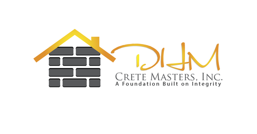 DHM Crete Masters, Inc. (not sure if it needs to be in design but that's the name of company A Logo, Monogram, or Icon  Draft # 44 by kingmaster
