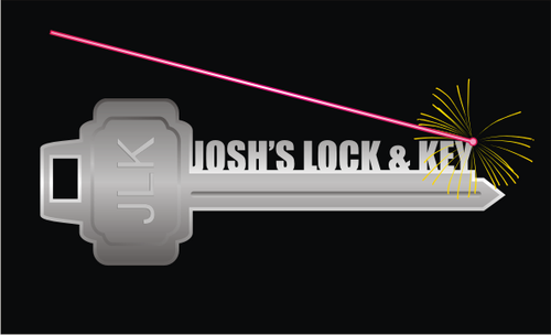Josh's Lock & Key A Logo, Monogram, or Icon  Draft # 13 by vable