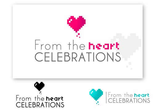 From the heart celebrations A Logo, Monogram, or Icon  Draft # 44 by aceana