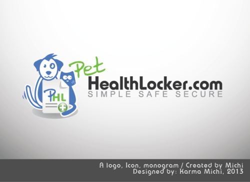 PetHealthLocker.com Logo Winning Design by karma