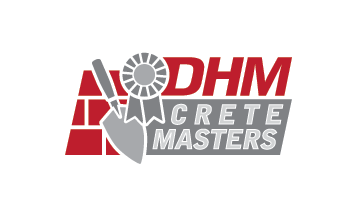 DHM Crete Masters, Inc. (not sure if it needs to be in design but that's the name of company A Logo, Monogram, or Icon  Draft # 49 by jldesigners