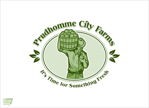 Prudhomme City Farms A Logo, Monogram, or Icon  Draft # 22 by rezaray