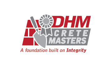 DHM Crete Masters, Inc. (not sure if it needs to be in design but that's the name of company A Logo, Monogram, or Icon  Draft # 50 by jldesigners