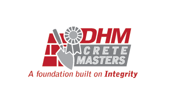 DHM Crete Masters, Inc. (not sure if it needs to be in design but that's the name of company A Logo, Monogram, or Icon  Draft # 51 by jldesigners
