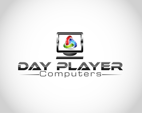 Day Player Computers Logo Winning Design by nirarajgraphics