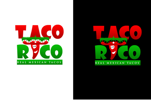 Taco Rico  A Logo, Monogram, or Icon  Draft # 319 by mrhai