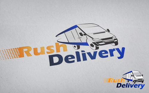 a car that symbols delivery service and that reflects its fast A Logo, Monogram, or Icon  Draft # 119 by drakoer