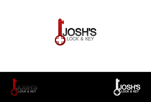 Josh's Lock & Key A Logo, Monogram, or Icon  Draft # 32 by dezignbox