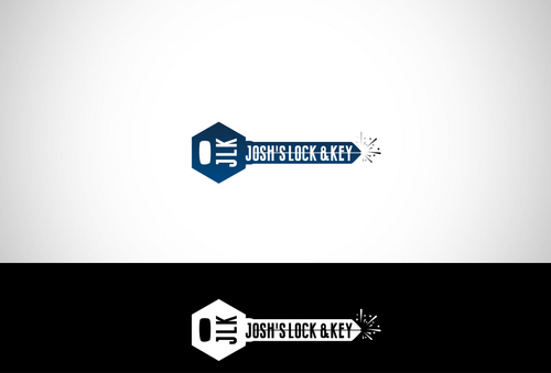 Josh's Lock & Key A Logo, Monogram, or Icon  Draft # 33 by dezignbox