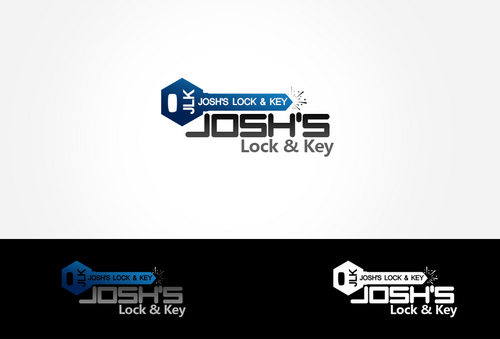 Josh's Lock & Key A Logo, Monogram, or Icon  Draft # 35 by dezignbox