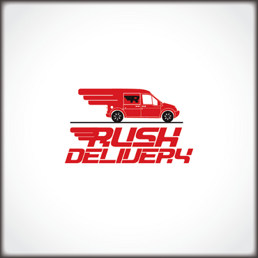a car that symbols delivery service and that reflects its fast A Logo, Monogram, or Icon  Draft # 123 by drisos