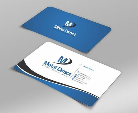 Metal Manufacturing Business Cards and Stationery  Draft # 101 by Deck86