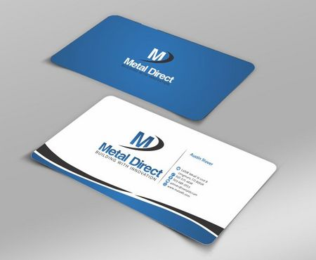 Metal Manufacturing Business Cards and Stationery  Draft # 102 by Deck86