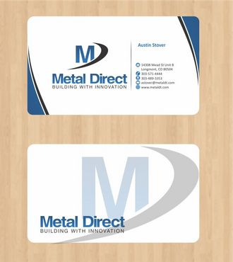 Metal Manufacturing Business Cards and Stationery  Draft # 103 by Deck86