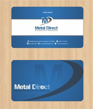 Metal Manufacturing Business Cards and Stationery  Draft # 104 by Deck86