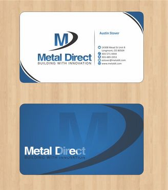 Metal Manufacturing Business Cards and Stationery  Draft # 108 by Deck86