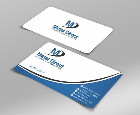 Metal Manufacturing Business Cards and Stationery  Draft # 111 by Deck86