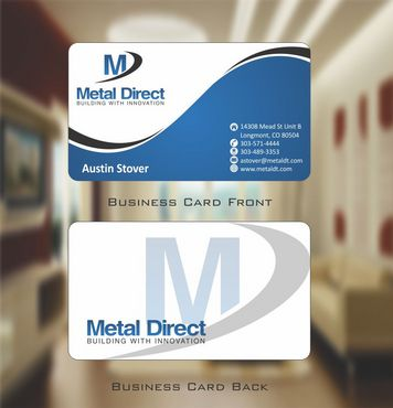 Metal Manufacturing Business Cards and Stationery  Draft # 113 by Deck86