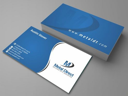 Metal Manufacturing Business Cards and Stationery  Draft # 119 by Deck86