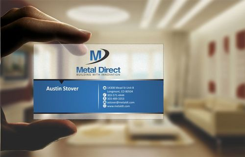 Metal Manufacturing Business Cards and Stationery  Draft # 126 by Deck86