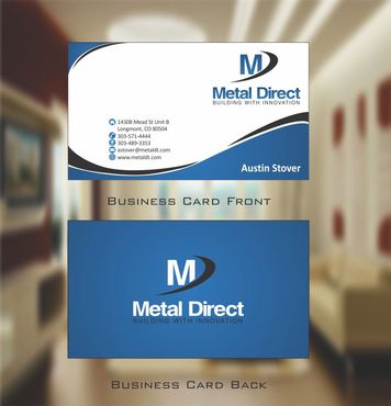 Metal Manufacturing Business Cards and Stationery  Draft # 127 by Deck86