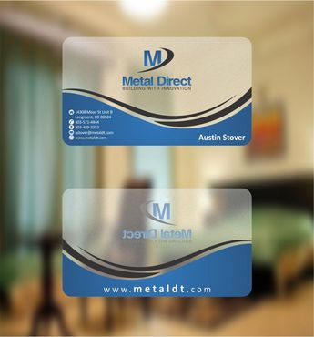 Metal Manufacturing Business Cards and Stationery  Draft # 129 by Deck86
