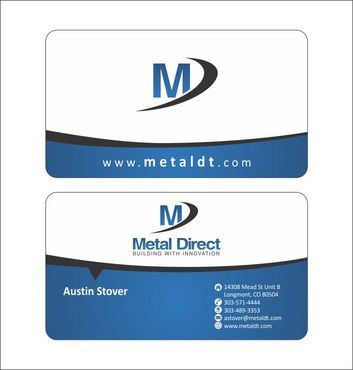 Metal Manufacturing Business Cards and Stationery  Draft # 132 by Deck86