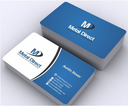 Metal Manufacturing Business Cards and Stationery  Draft # 140 by Deck86