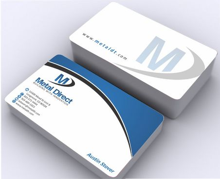 Metal Manufacturing Business Cards and Stationery  Draft # 148 by Deck86
