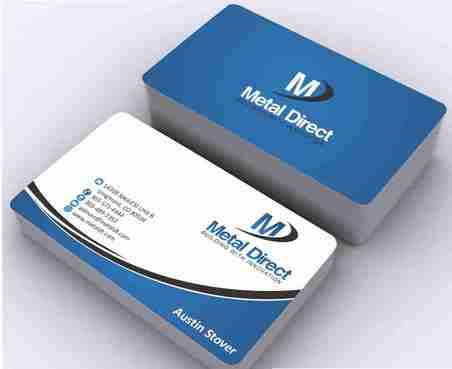 Metal Manufacturing Business Cards and Stationery  Draft # 149 by Deck86